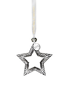 Waterford Star Ornament Blank