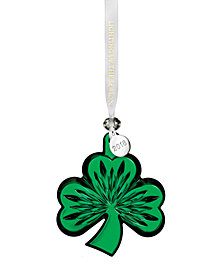 Waterford Shamrock Green Ornament