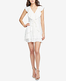RACHEL Rachel Roy Ruffled Fit & Flare Dress