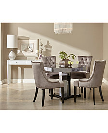 Hudson 5-Pc. Dining Set (1 Table & 4 Chairs), Quick Ship