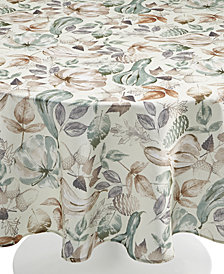 "Elrene Gourd Gathering 70"" Round Tablecloth"