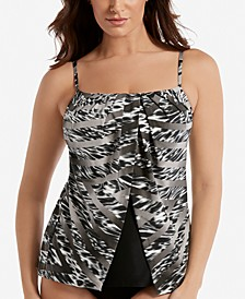 Feline Fixation Jubilee Fly-Away Tankini Top