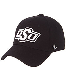 Zephyr Oklahoma State Cowboys Black/White Stretch Cap