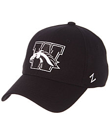 Zephyr Western Michigan Broncos Black/White Stretch Cap