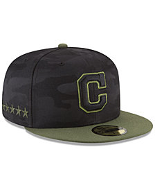 New Era Boys' Cleveland Indians Memorial Day 59FIFTY FITTED Cap
