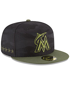 New Era Boys' Miami Marlins Memorial Day 59FIFTY FITTED Cap