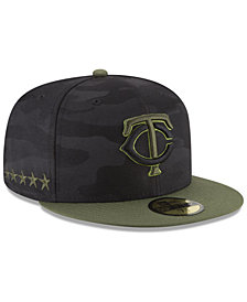New Era Boys' Minnesota Twins Memorial Day 59FIFTY FITTED Cap