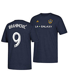 adidas Men's Zlatan Ibrahimovic LA Galaxy Away Player T-Shirt