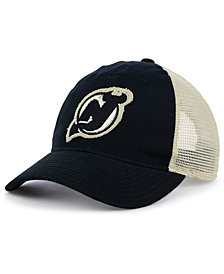 adidas New Jersey Devils Sun Bleached Slouch Cap