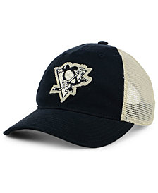 adidas Pittsburgh Penguins Sun Bleached Slouch Cap