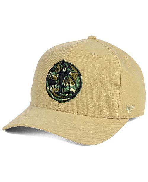 buy popular 96fa1 7692f ...  47 Brand Dallas Mavericks Camfill MVP Cap    ...