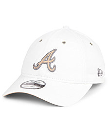 New Era Atlanta Braves Metallic Pastel 9TWENTY Cap
