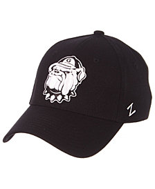 Zephyr Georgetown Hoyas Black/White Stretch Cap