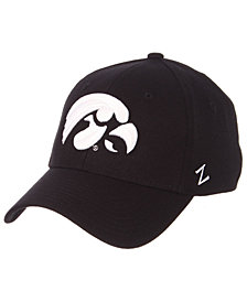 Zephyr Iowa Hawkeyes Black/White Stretch Cap