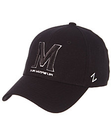 Zephyr Maryland Terrapins Black/White Stretch Cap