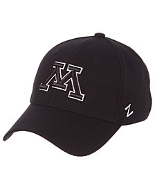 Zephyr Minnesota Golden Gophers Black/White Stretch Cap