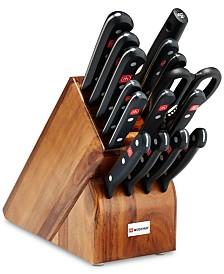 Wüsthof 16-Pc. Gourmet Cutlery Set