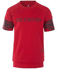 Jordan Big Boys Layered-Look Graphic-Print T-Shirt