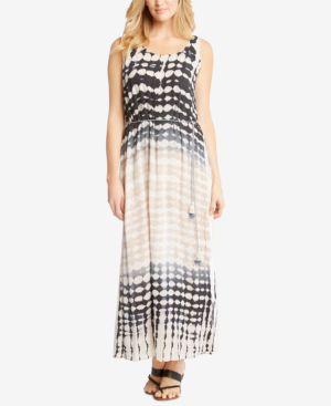Karen Kane Tie-Dyed Maxi Dress 6386911