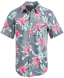 Univibe Men's Mindset Palm Print Shirt