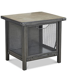 Dale Storage End Table, Quick Ship
