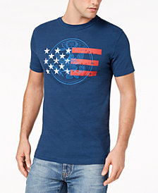 Club Room Men's Americana Graphic-Print T-Shirt, Created for Macy's