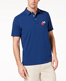Tommy Bahama Men's Hula Back Holiday Polo with Islandzone