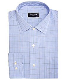 Club Room Men's Slim-Fit Performance Stretch Wrinkle-Resistant Assorted Plaid Dress Shirts, Created for Macy's