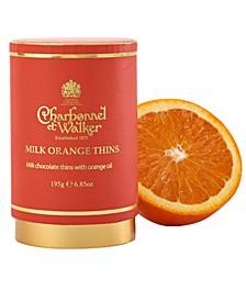 Milk Chocolate Orange Thins
