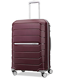 "Samsonite Freeform 24"" Expandable Hardside Spinner Suitcase"