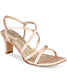 Bandolino Ota Embellished Strappy Sandals
