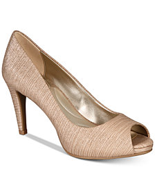 Bandolino Rainaa Peep-Toe Pumps