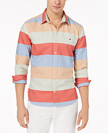 Tommy Hilfiger Denim Men's Arthur Stripe Shirt, Created for Macy's