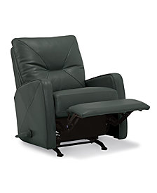 Finchley Leather Pushback Rocker Recliner