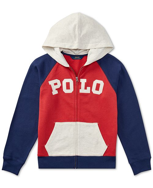 64e738039 ... Polo Ralph Lauren Cotton French Terry Hoodie