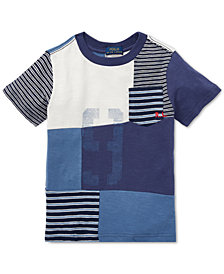 Polo Ralph Lauren Toddler Boys Patchwork Cotton T-Shirt