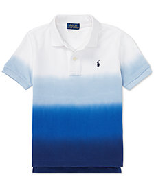 Polo Ralph Lauren Big Boys Dip-Dyed Cotton Mesh Polo