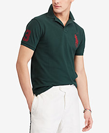 Polo Ralph Lauren Men's Custom Slim Fit Cotton Polo