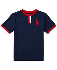 Polo Ralph Lauren Big Pony Cotton Jersey T-Shirt, Big Boys