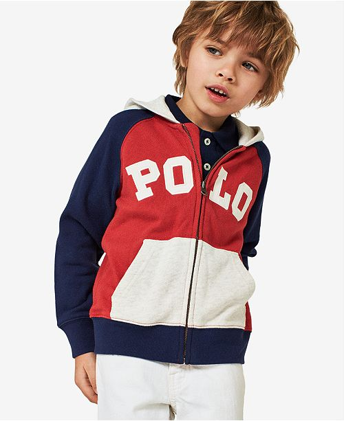 5d2923139 Polo Ralph Lauren Cotton French Terry Hoodie