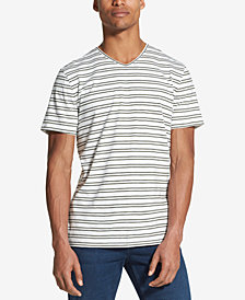 DKNY Men's Classic Fit Mercerized Stripe T-Shirt