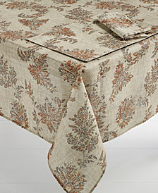 "Bardwil Avignon Sand 60"" x 120"" Tablecloth"