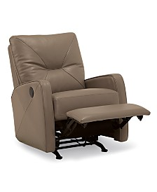 Finchley Leather Power Rocker Recliner
