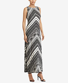 American Living Graphic-Print Maxi dress