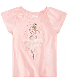 Epic Threads Toddler Girls Ballerina T-Shirt, Created for Macy's