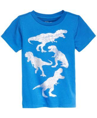 Little Boys Dino-Print T-Shirt, Created for Macy's