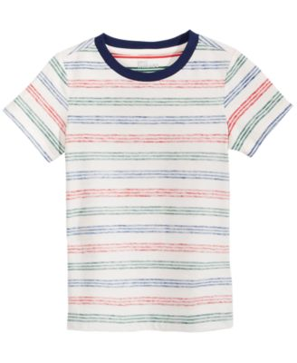 Little Boys Jupiter Striped T-Shirt, Created for Macy's