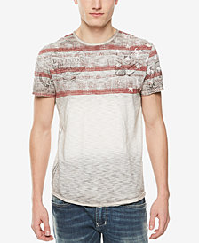 Buffalo David Bitton Men's Multi-Print T-Shirt