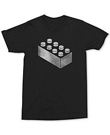 Changes Men's Distressed Lego Screenprint T-Shirt