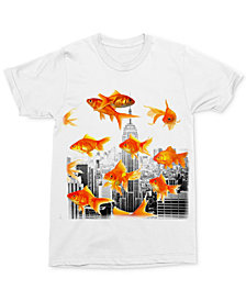 Gold Fish City Men's T-Shirt by Changes